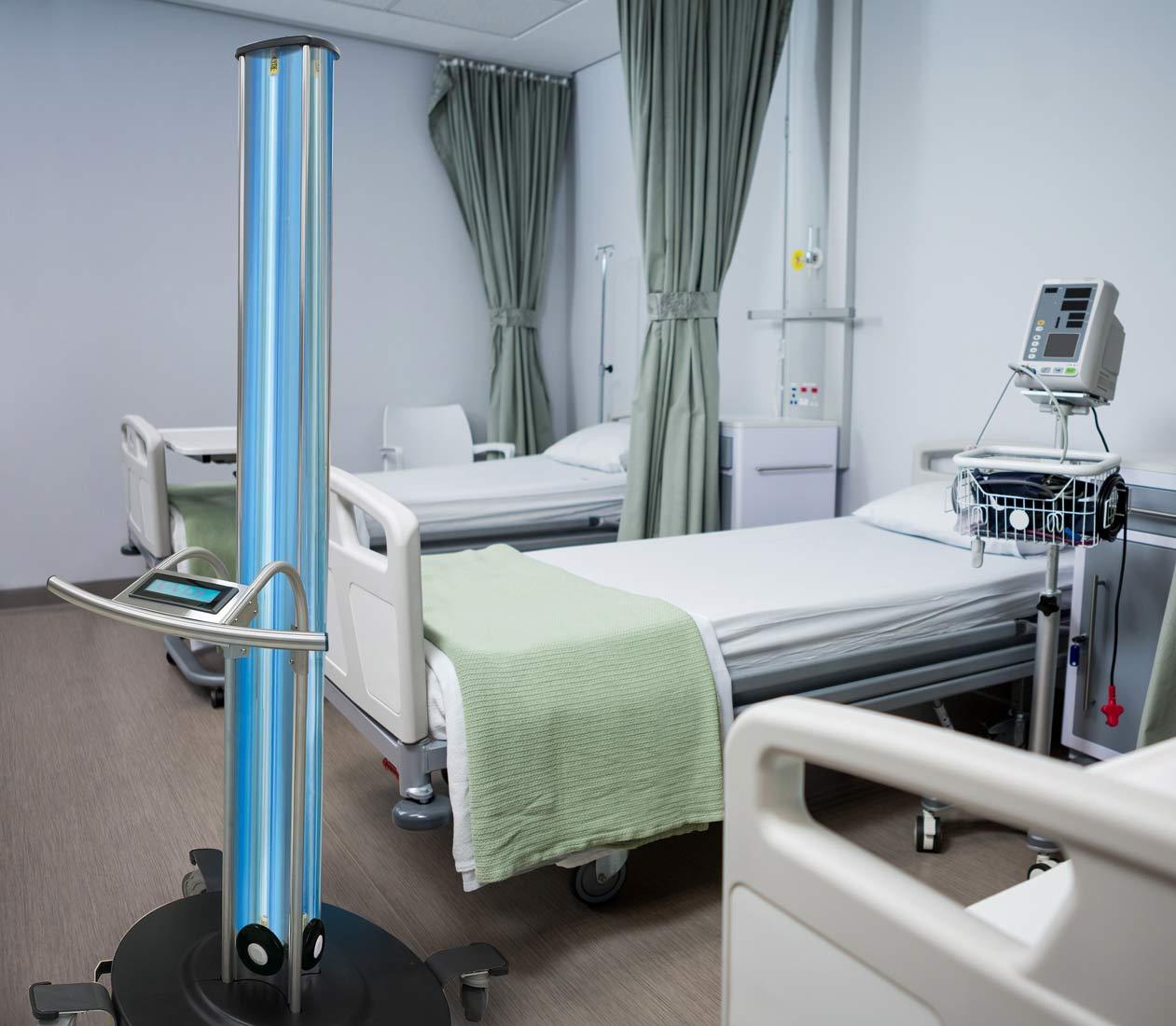 UV-360 Lichtdesinfektion in Anwendung